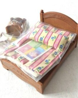 Epoch Calico Critters Sylvanian Families furniture SemiDouble bed set Ka-512 NEW