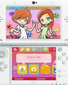 Nintendo 3DS PUYO PUYO Chronicle Anniversary Limited BOX 3 Bonus Music CDs NEW