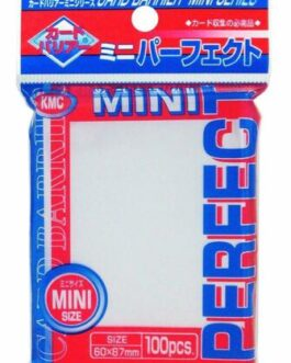 KMC Perfect Barrier Mini Card Sleeves 100 sleeves 60mm x 87mm