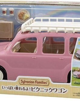 Sylvanian Families PINK PICNIC WAGON V-06 2020 Calico Critters