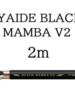 OYAIDE BLACK MAMBA V2 Audio Power Cable 2.0m units 3.5SQ Polymeric Polyolefin