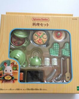 Epoch Calico Critters Sylvanian Families Kitchen Cooking Tool Cookware Set Ka410