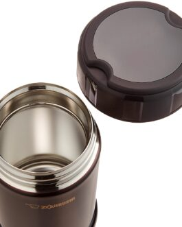 Official Zojirushi stainless Cook & Food Jar 750ml dark cocoa SW-JA75-TD Made in Japan