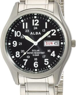 ALBA watch Solar Men's AEFD560 Made in Japan