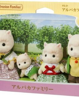 Sylvanian Families Epoch Alpaca Family FS-31 Animal doll Limited Japan S112