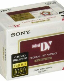 Genuine SONY 3DVM63HD Genuine Camcorder Tapes Sony Mini DV Minidv DVC Japan