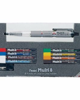 Japan Pentel 2.0mm Mechanical Pencil Japanese Multi 8 colors Pen PH802ST F/S New