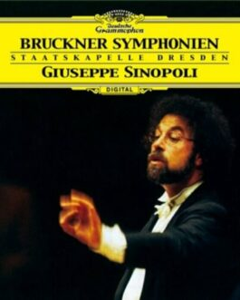 New Giuseppe Sinopoli Bruckner Symphonies 6CD JAPAN