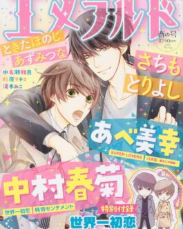 Emerald June 2020 Japanese Magazine manga Made in Japan