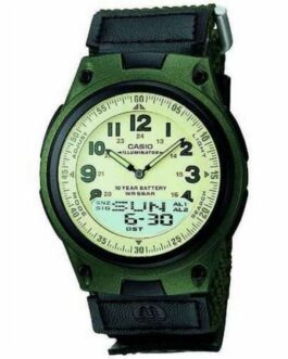 Official CASIO Standard Green Mens Watch AW-80V-3BJF F/S