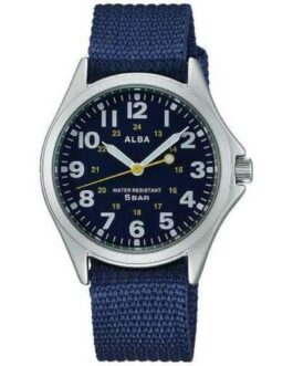 Official ALBA Watch Military AQPK402 Water Resist Made in Japan