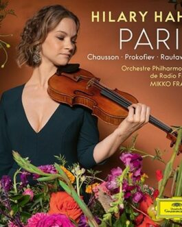 New Hilary Hahn Paris TOWER RECORDS from Japan