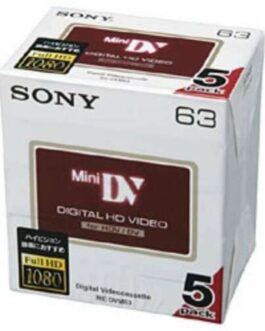 Genuine SONY 5DVM63HD Genuine Camcorder Tapes Sony Mini DV Minidv DVC Japan