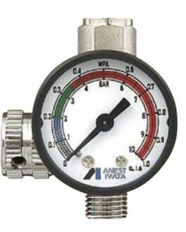 Japan ANEST IWATA Hand Pressure Gauge Air Regulator for Spray Guns AJR-02S-VG