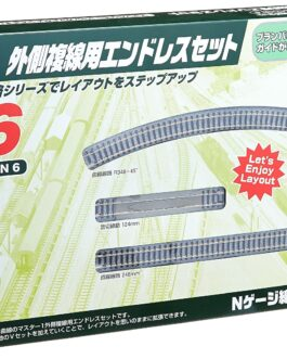 from Japan Kato 20-865 UNITRACK Variation Set V6 Outer Oval Track Set New