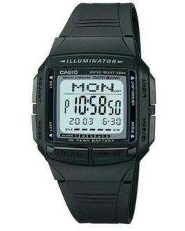 Genuine CASIO Digital Watch Black/Gray DB-36-1AJF DATA BANK Men's From Japan