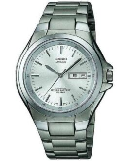 Genuine CASIO LINEAGE LIN-171J-7AJF Titanium Analog Silver Men's Watch