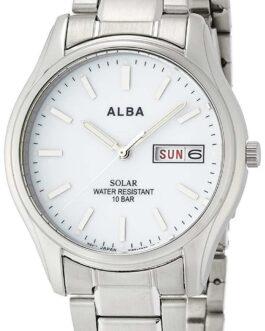 Japan ALBA AEFD541 Watch Solar Hard Rex Reinforced waterproof 10atm pair men's