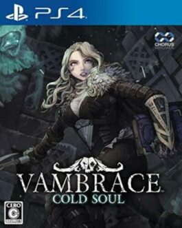 Van Brace: Cold Soul Sony Playstation 4 PS4 Video Games From Japan