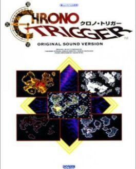 Chrono Trigger Original Sound Version Piano Score Japanese GAME MUSIC BOOK  | eBay
