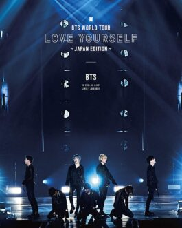 BTS WORLD TOUR 'LOVE YOURSELF' JAPAN Blu-ray (1st Press Limited Edition)