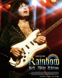 Rainbow Best Wide Edition Japan Band Score Sheet Music Ritchie Blackmore  | eBay