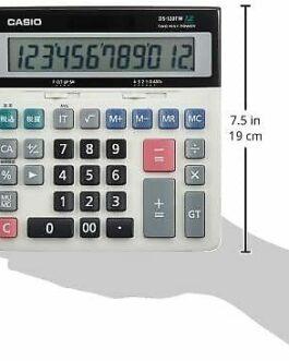 Casio DS-120TW Standard Calculator Desk Type 12 Digits
