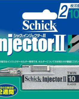 new Schick Injector II 2 Blade Hoja Hoja 10 Piezas Nuevo  | eBay